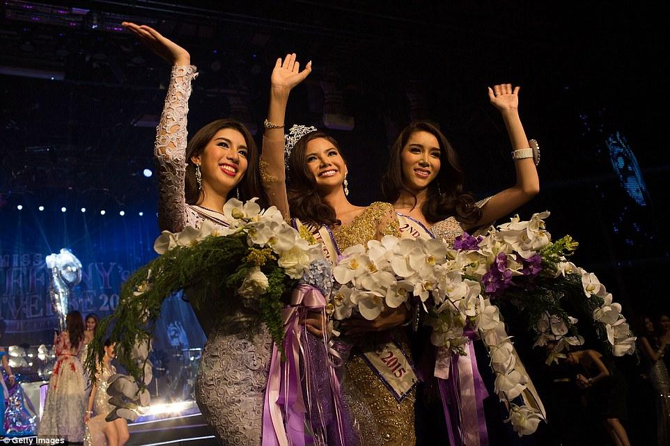 Transgender Pageant Miss Tiffany Universe