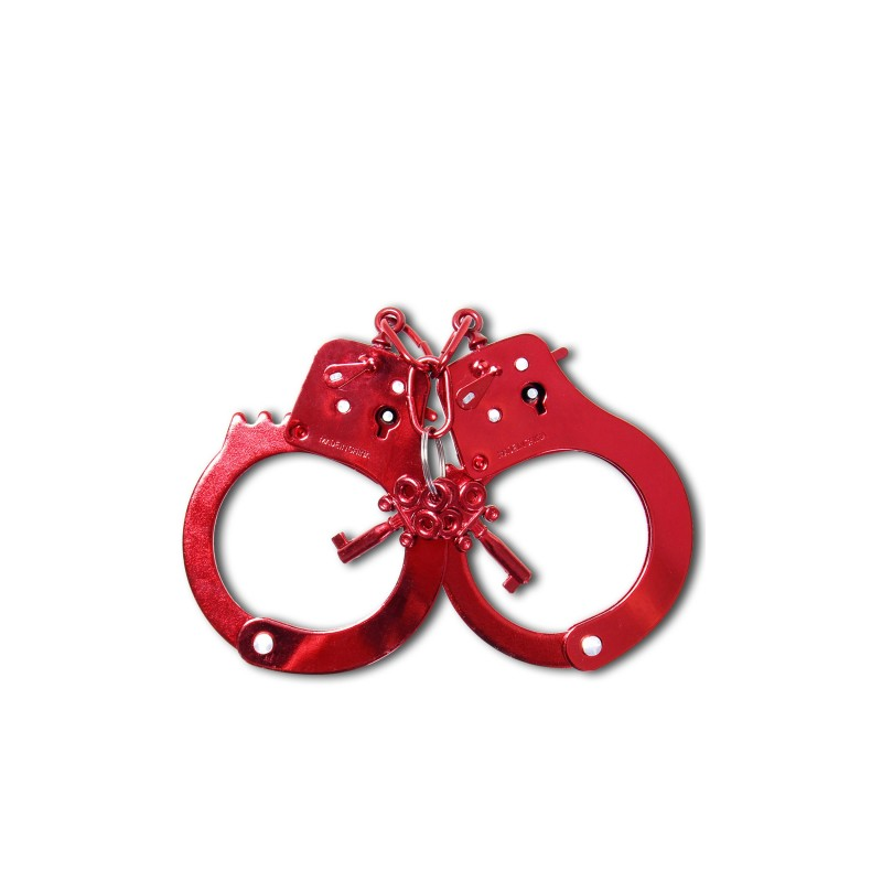 Fetish Fantasy Anodized Handcuffs Sex Toy Image