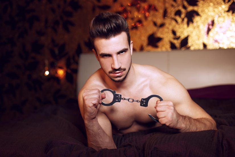 Man with Handcuffs Photo