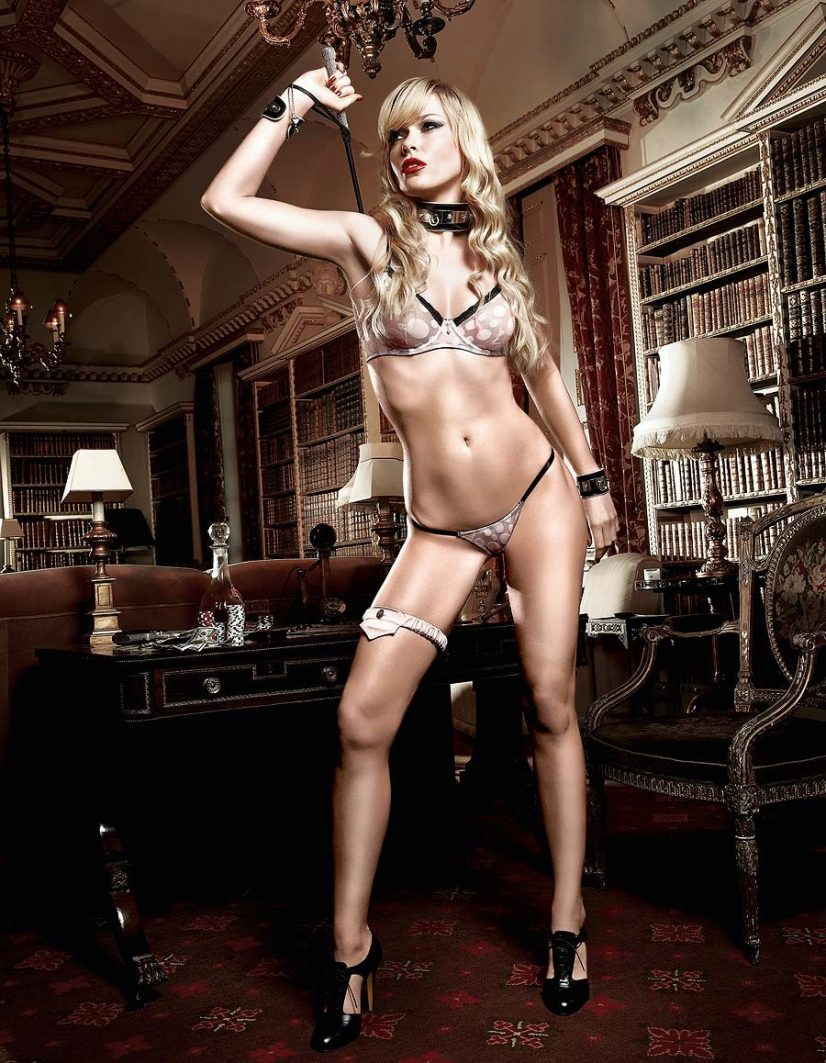 Baci Lingerie Woman with Whip