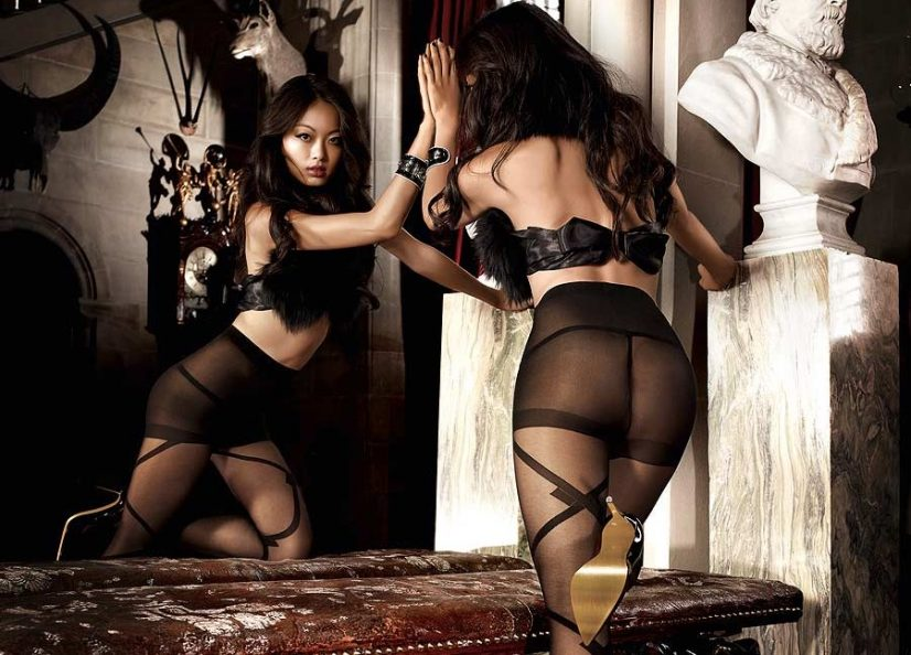 Women in Stockings Luxury Mansion