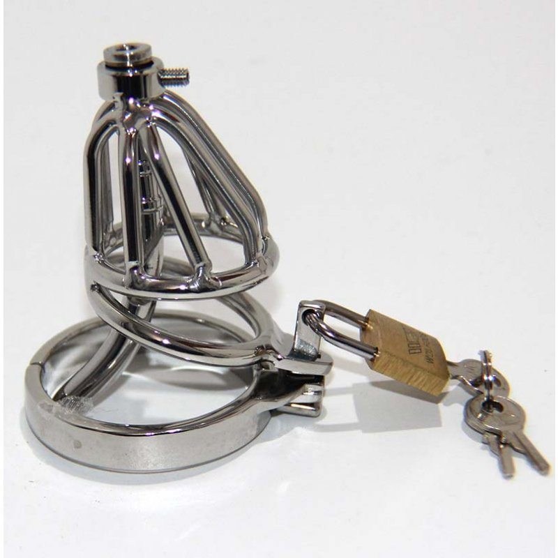 Locked-in Pee Chastity Device