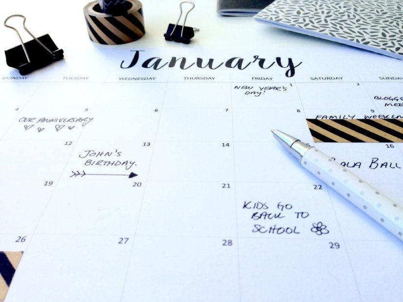Weekly Calender Planner