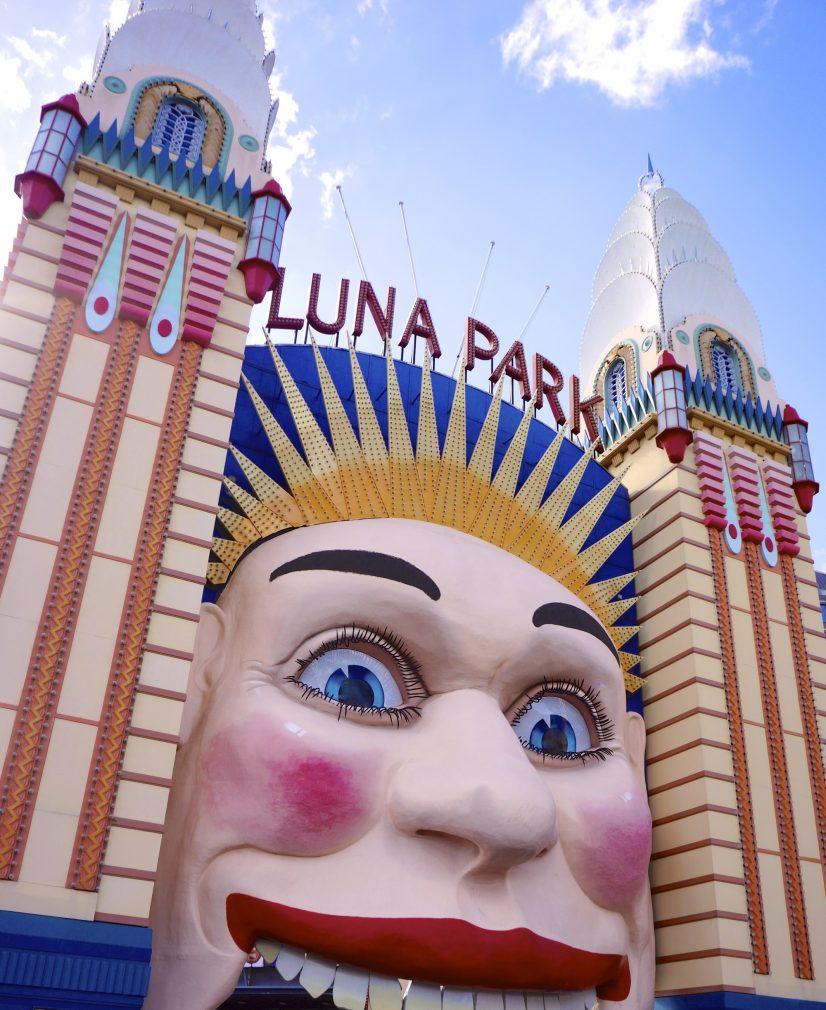 Luna Park Sydney Rollercoaster Orgasn