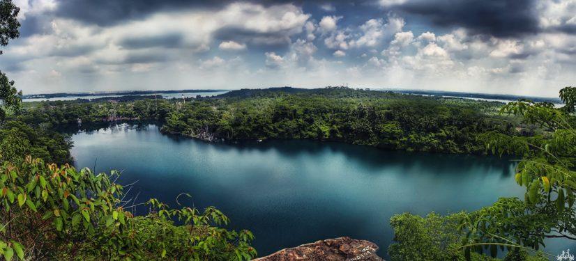 Pulau Ubin Wide Lake