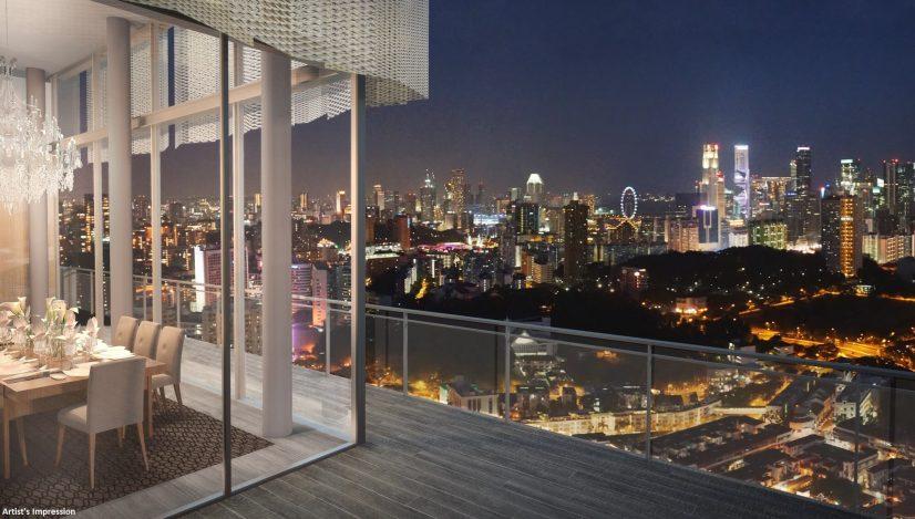 Tiong Bahru Singapore Balcony View