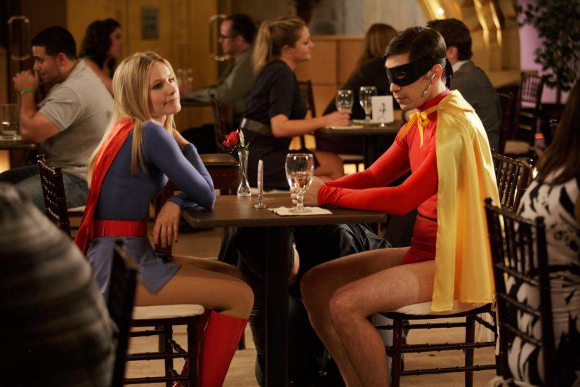 Superhero Couple Photo