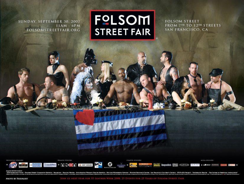 Folsom Street Fair Apostles Advertisement Image