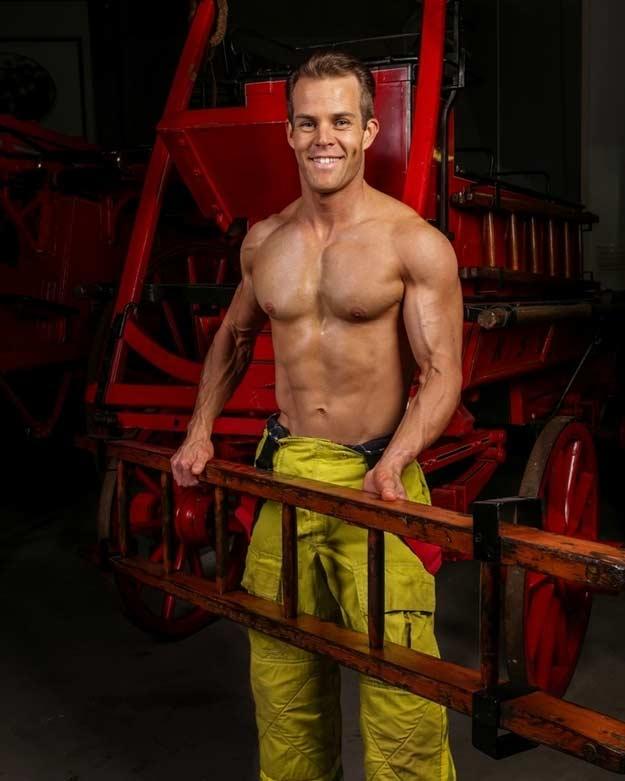 Fireman Carrying Ladder Photo