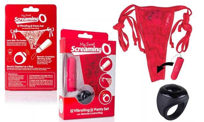 ScreamingO Vibrating Panty Set Photo
