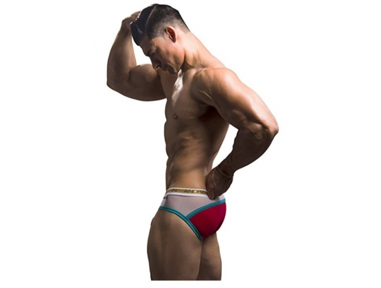 Almost Naked Peek-a-boo Holiday Brief Red, Small