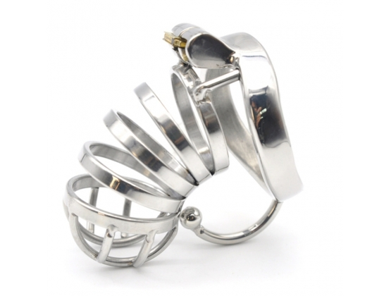 Ball Hook Cock Cuff Chastity Cage