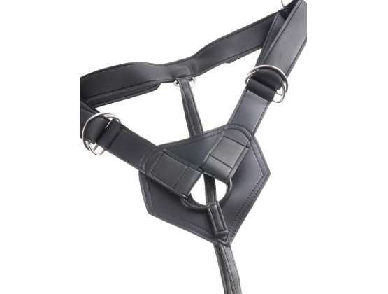 King Cock Strap-On Harness with 9 inch Cock