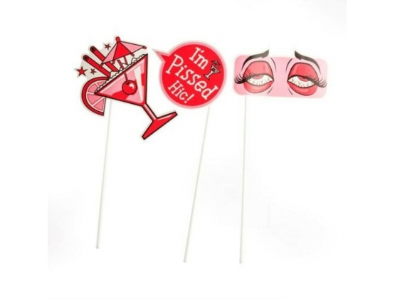 Miss Naughty Hen Party Photo Props
