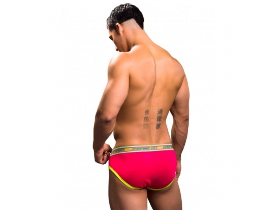 Show-It Tagless Brief Teaberry