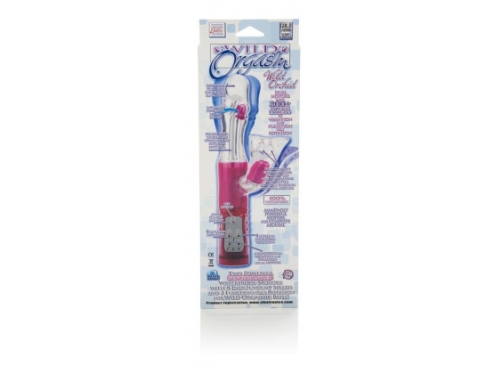 Wild Orchid Vibrator With Balls And Stimulators