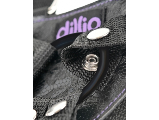 "Dillio 6"" Strap-On Suspender Harness Set"