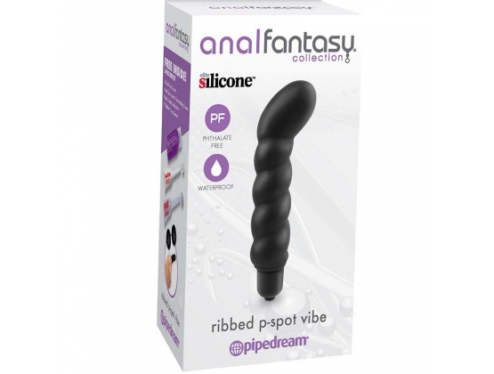 Anal Fantasy Collection Ribbed P-Spot Vibe