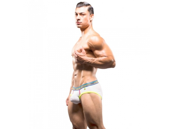 Almost Naked Brief With Show It White