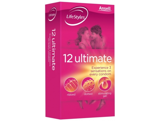 Ansell LifeStyles Ultimate 12 pack
