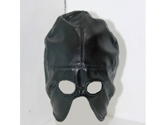 Axe Man Half Mask Faux Leather