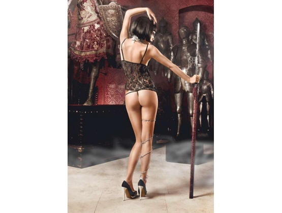 Baci Lace Baby Doll and G-String