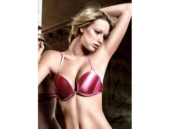 Baci Deep-V Convertible Bra Raspberry