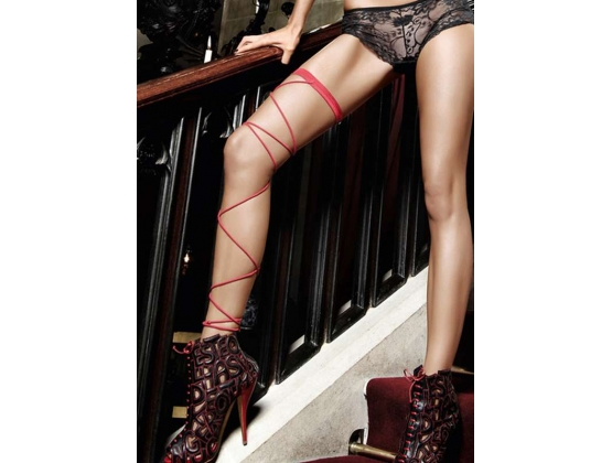 Baci Wrap Around Leg Garter