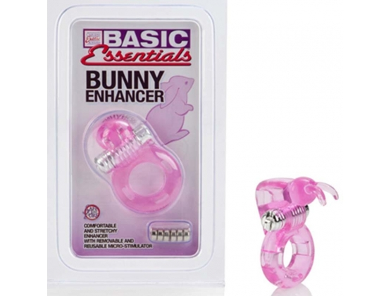 Basic Essentials Vibrating Bunny Enhancer