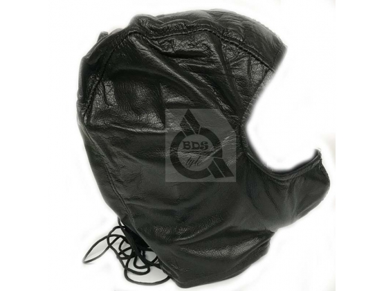 BDSM Open Face Mask Leather