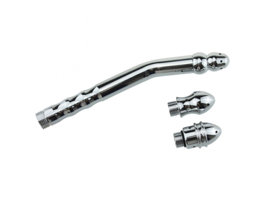 Bend Anal Cleaner With 3 Interchangeable Heads