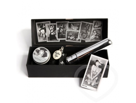 Bettie Page Buzzin Bullet and Balm Set