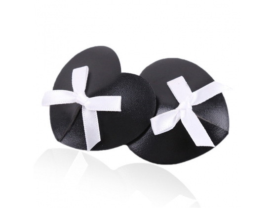 Black Heart White Box Nipple Pasties