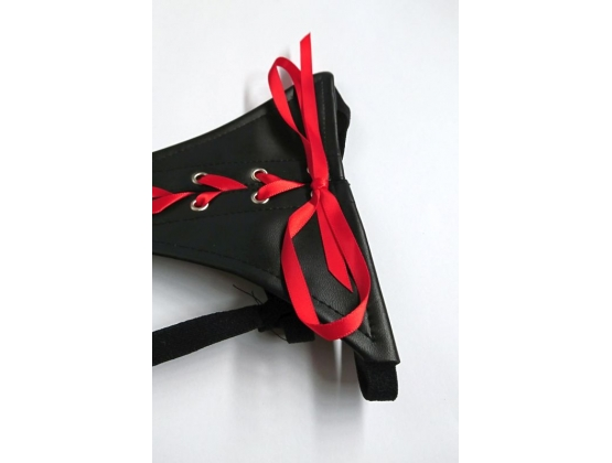 Sexy Panty With Red Silk Ties