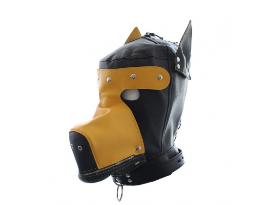 Hound Dog Hood With Detachable Blindfold