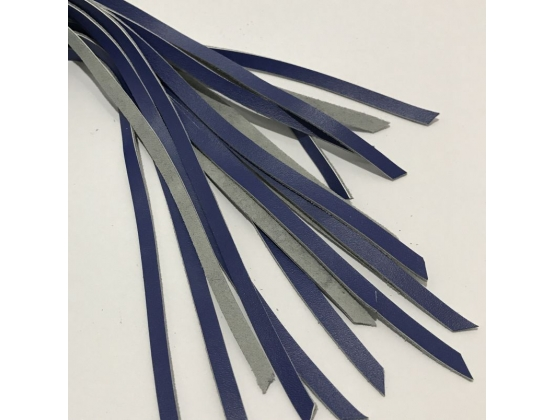 Blue Leather Whip