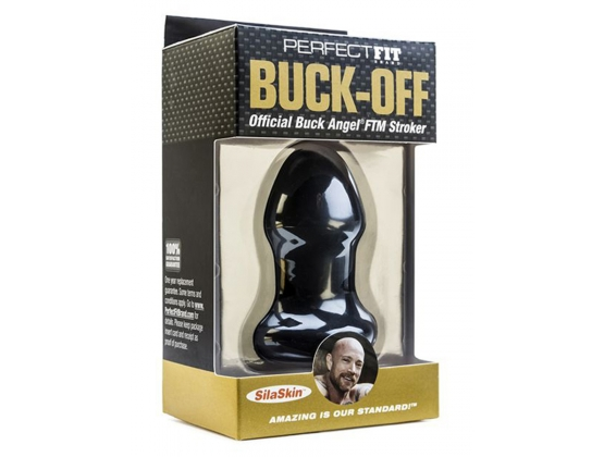 Perfect Fit Buck Off Buck Angel FTM Stroker Black