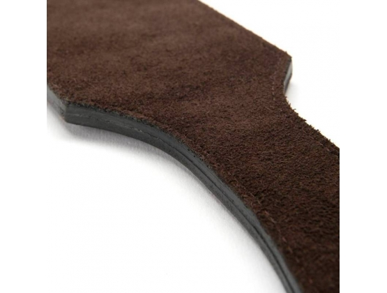 Coco de Mer Brown Leather Paddle