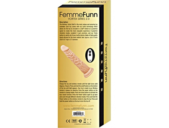 FemmeFunn Vortex Series 2.0 Wireless Turbo Shaft