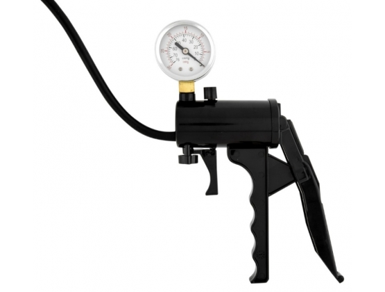 Lust Pumper Penis Pump with Gauge 8 inch