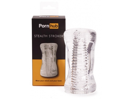Pornhub Official Collection Stealth Stroker Clear