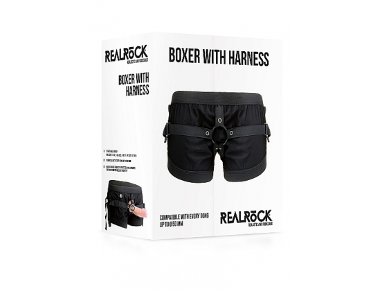 Realrock Boxer With Harness