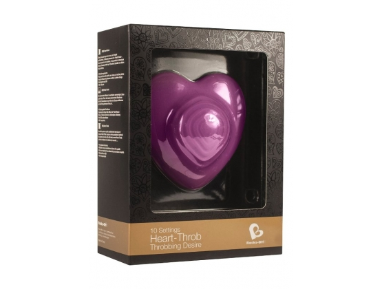 Rocks Off Heart Throb Massager