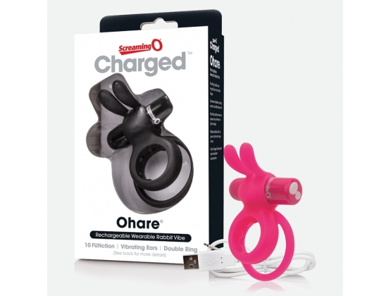 ScreamingO Charged Ohare Vibrating Rabbit Cock Ring