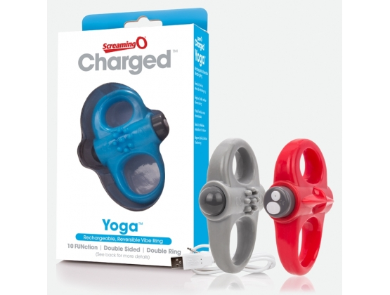 ScreamingO Charged Yoga Vibrating Cock Ring