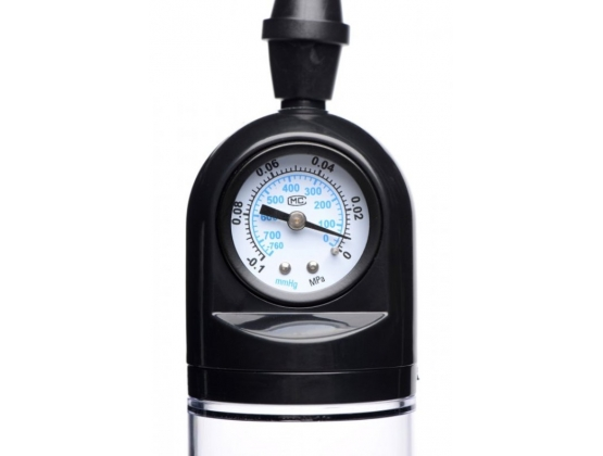 Size Matters Trigger Penis Pump with Gauge