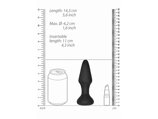 Sono No. 81 Rechargeable Remote Controlled Self Penetrating Butt