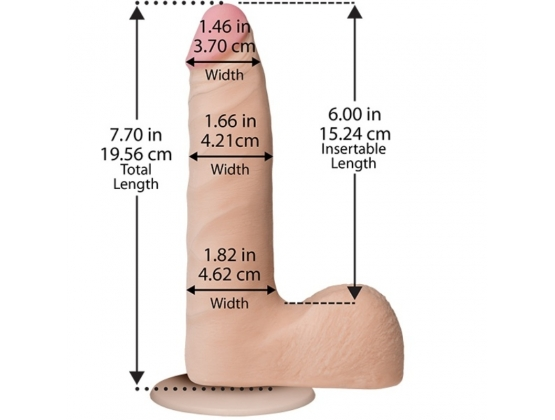 The Realistic Cock UR3 Slim 7 Inch