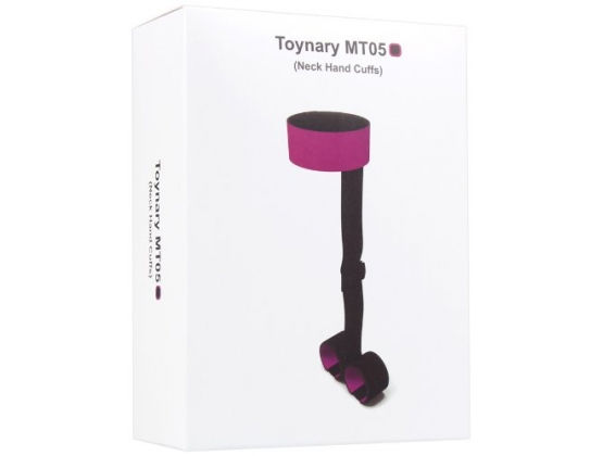 Toynary MT05 Magic Tape Neck and Hand Cuffs