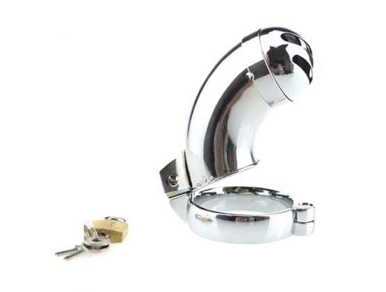 Brutus Male Steel Chastity With Sprinkler